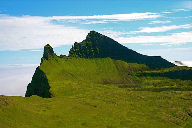 Fiordos del oeste de Islandia