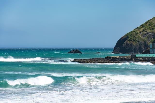 Playa St Clair de Dunedin