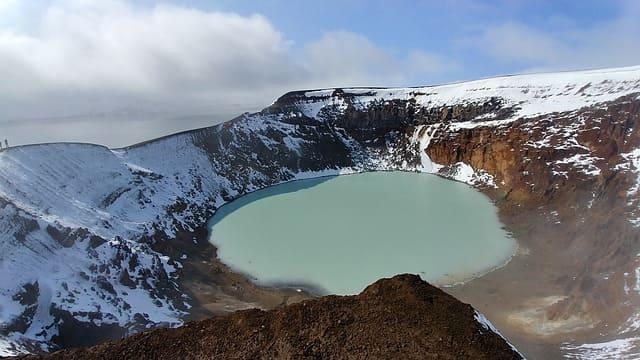 crater de islandia Hverfjall