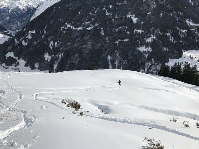 esquiar en isla sur