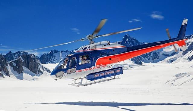 nueva zelanda en helicoptero
