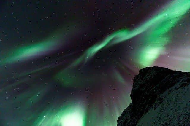 islandia aurora borealis